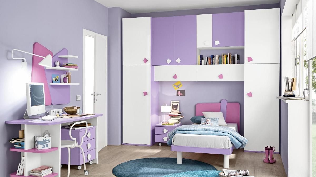 Camere Per Bambini Moderne : Camere per ragazzi moderne fratelli cutini mobili srl roma