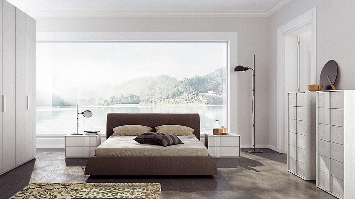 Camere da letto moderne fratelli cutini mobili srl roma - Camere da letto moderne roma ...