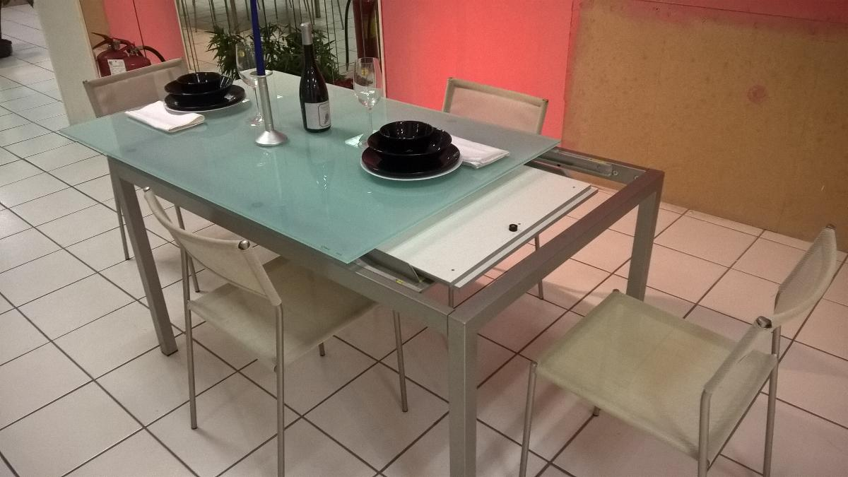 Tavolo Calligaris vetro - Fratelli Cutini Mobili Srl - Roma